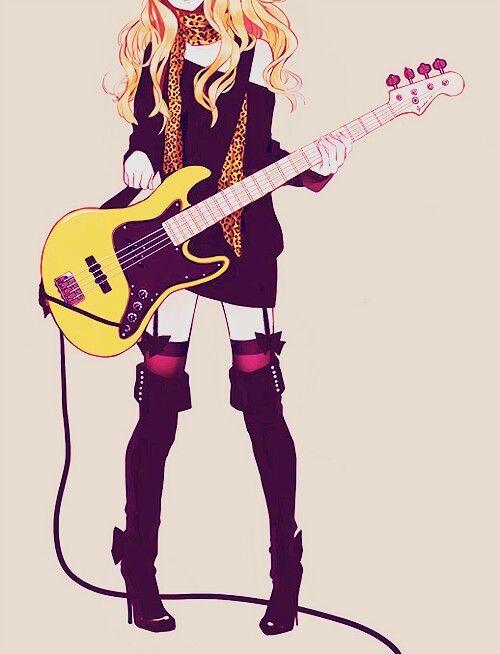Girl Whit a Guitar