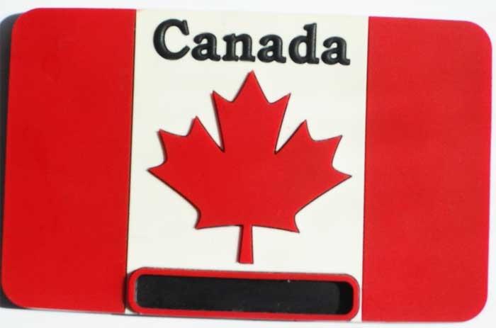 Magnet / Магнит. Канада: флаг Канады