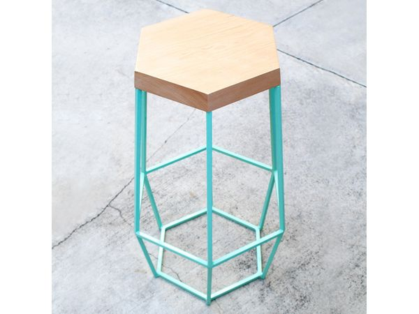 Design Daily: Timber & Ore Barstool by WoodSmithe | California Home + Design
