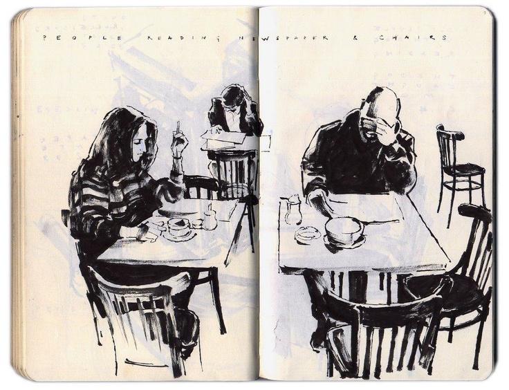 ARTIST: Alessandro Carloni Sketchbook