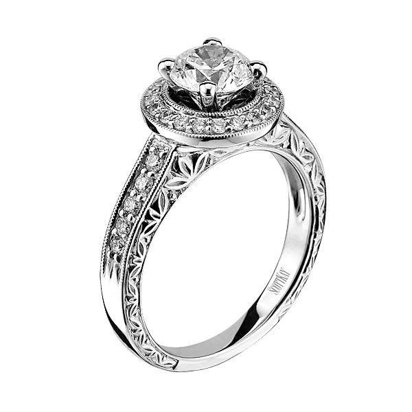 My ring. He did good!! Scott Kay M1603R310 Engagement Ring- Genesis Diamonds.