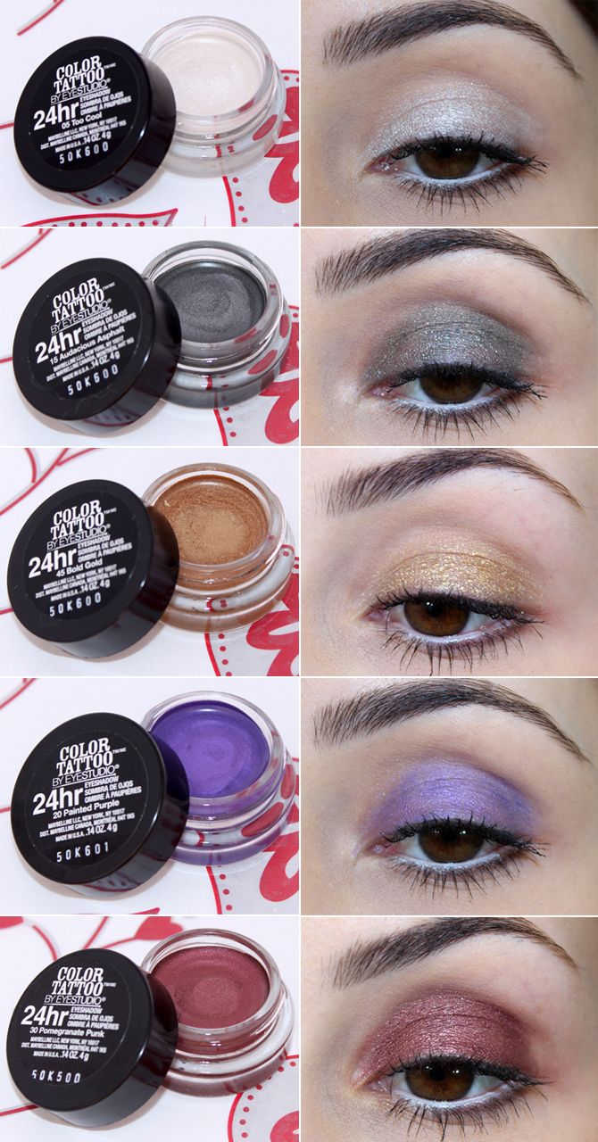 5- sombras color tattoo maybelline