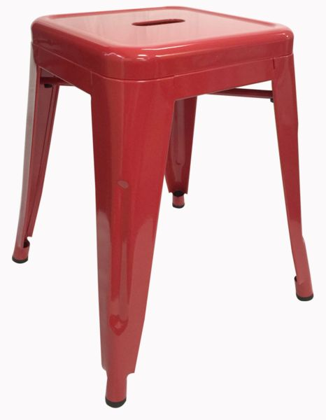 Buy Replica Tolix Stool 45cm Red Online at Factory Direct Prices w/FAST, Insured, Australia-Wide Shipping. Visit our Website or Phone 08-9477-3441