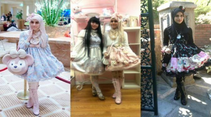 Imutnya Tren Busana Muslim Lolita dari Jepang.