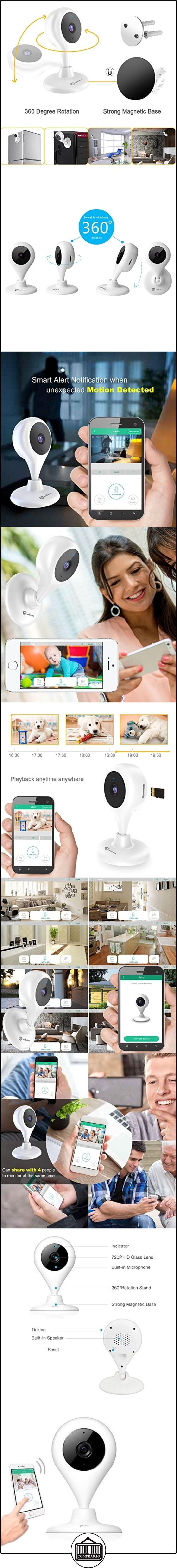 Cámara Vigilancia HD miSafes Vigilabebé Wi-Fi Monitor Remoto Seguridad Bebé Mascotas para iOS Android Móvil y Tablets  ✿ Vigilabebés - Seguridad ✿ ▬► Ver oferta: http://comprar.io/goto/B014FC5QXO