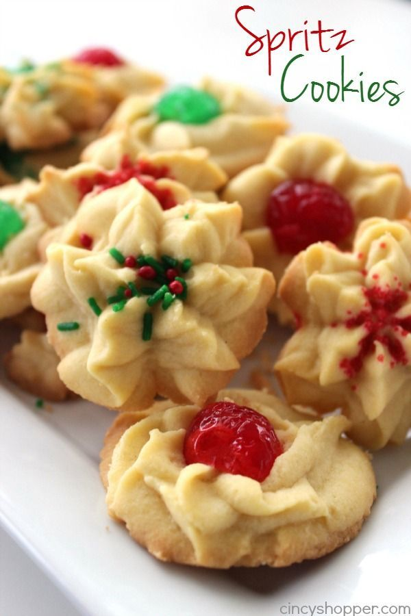 If you are needing a traditional Christmas cookie, these Easy Spritz Cookies are the BEST holiday cookie you can make. The buttery cookie is perfect for leaving plain or decorating up with green or red maraschino cherries, sprinkles, or even dip them in chocolate. Traditional Spritz Cookies Everyone in our house is sure to be...Read More