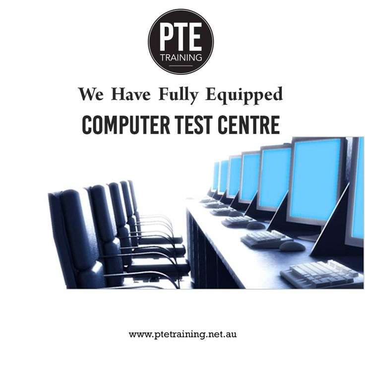 We Have Fully Equipped Computer Test Centre.