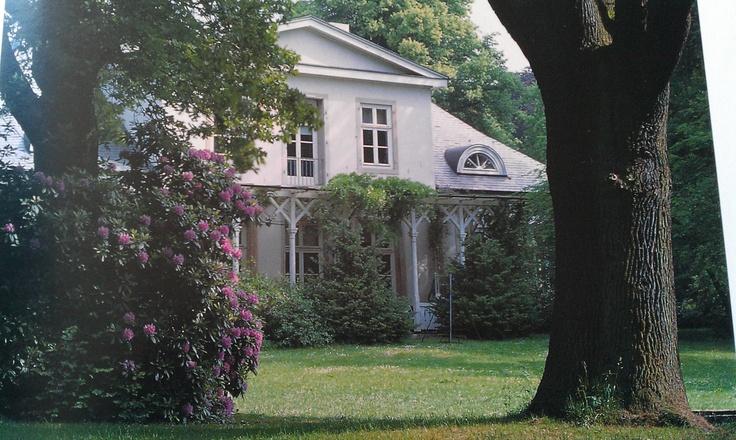 "Haus Lesmona in Bremen. Read ""Sommer in Lesmona"", if you like Jane Austen."