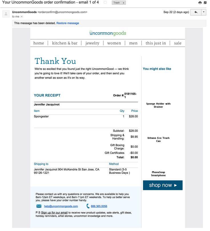 15 best Email - Transactional images on Pinterest September - invoice email