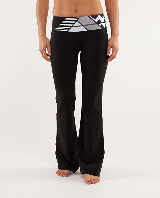 Groove Pant / $98 / LuLu Lemons.  Another one worth the $.  I had to save for these!