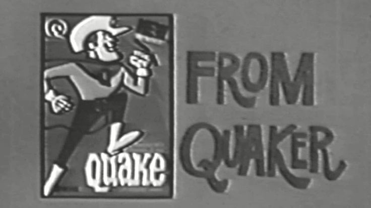 1969 - Commercial - New & Improved Quaker Cereal from Quaker (and Quisp too!) Posted on YouTube by: Video Archeology6 Find it here: http://youtu.be/X24B8btV5sg Uploaded on November 25 2016 at 03:49PM