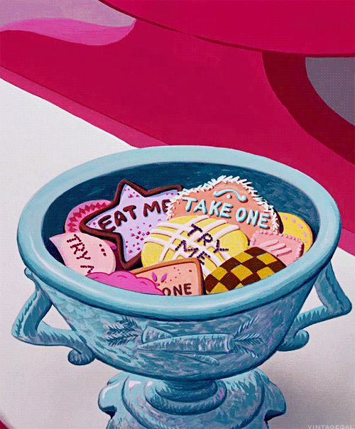 vintagegal: Alice in Wonderland de Disney (1951)