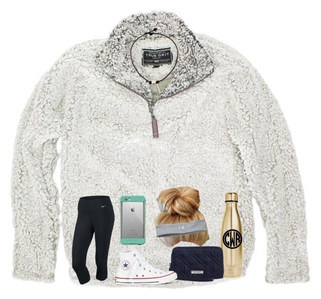 """""""I love this❤️"""" by shenry2016 ❤ liked on Polyvore featuring True Grit, NIKE, LifeProof, Under Armour, S'well, Vera Bradley and Converse"""