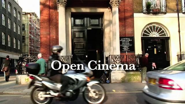 About Open Cinema, (community cinemas for homeless & socially-excluded people.)    |   London