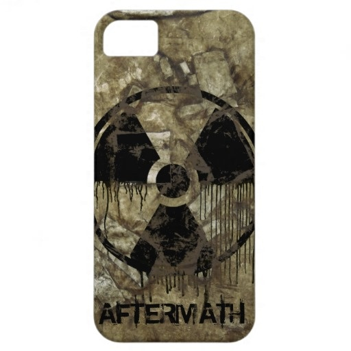 AFTERMATH iPhone 5 case. Post-apocalyptic, fully customizable design by BannedWare