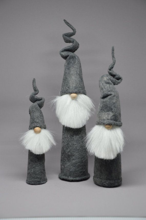 Medium, Large and XL Rocket Gnome Trio | GnomeFactory