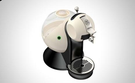 Krups Cafetera expresso Dolce Gusto Melody color marfil para los amantes del buen café