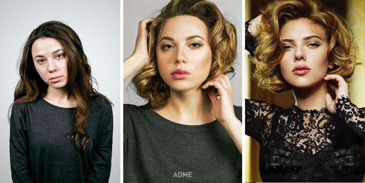 Как макияж превращает обычных людей взнаменитостей