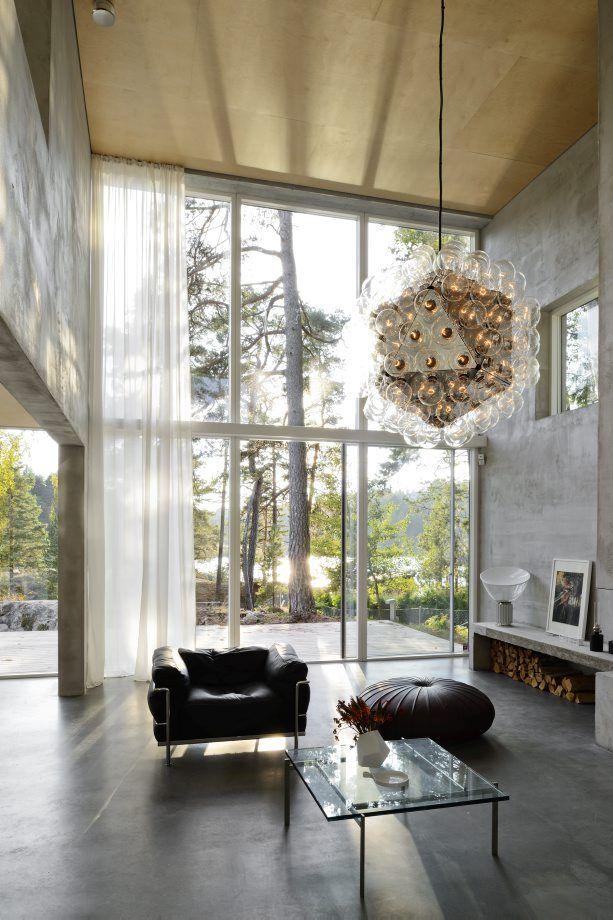Une boîte vitrée au milieu des arbres | PLANETE DECO a homes world