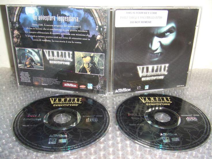 VAMPIRE The Masquerade REDEMPTION - Gioco PC CD - ITALIANO