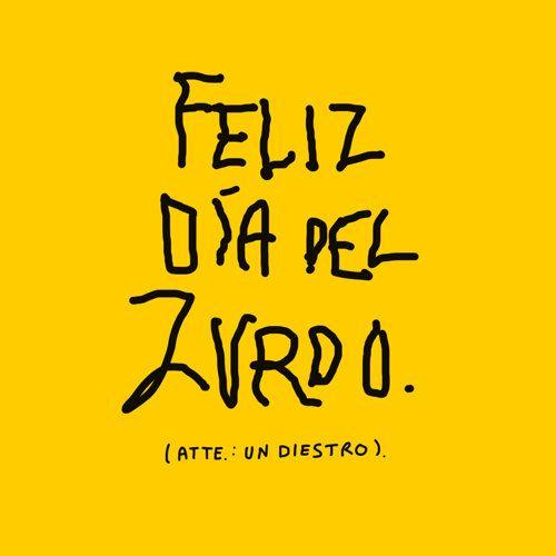 #Pinterest Feliz Día del Zurdo.