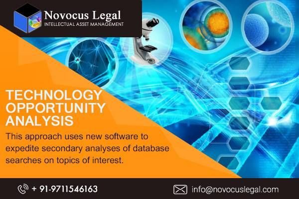 Technology Opportunities For Business In Us Novocus Legal Opportunity Analysis Technology Patent Search