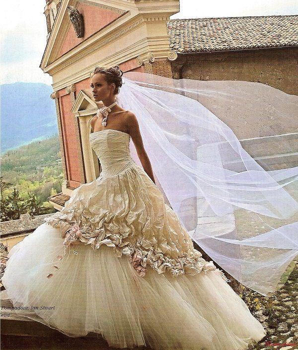 Лучшее свадебное платье, самые красивые свадебные платья 2015, фото свадебных платьев