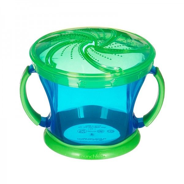 Munchkin Snack Catcher | Toddler Snack Container | Snack Cup