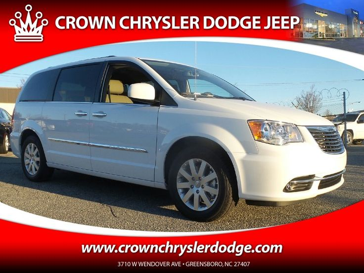 New 2016 Chrysler Town & Country Touring For Sale in Greensboro NC  