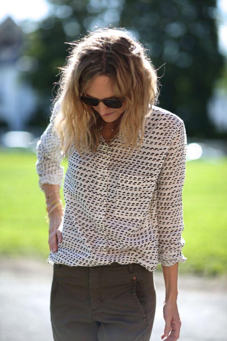 Twill cotten shirt - Bluser/skjorter - Klær