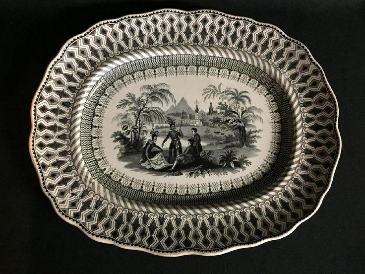 Historical Staffordshire William Penn's Treaty Platter