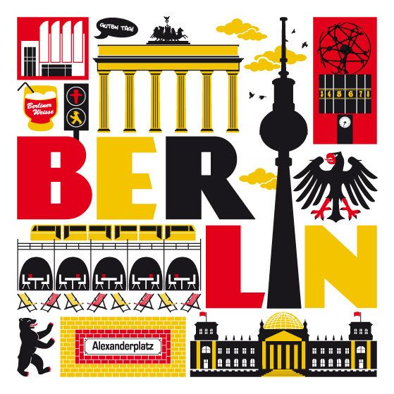 Can you recognize these points of interest in Berlin?
