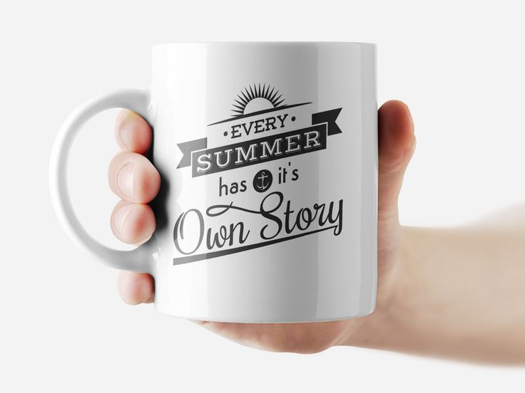 Every summer has it's own story Mug Funny Rude Quote Coffee Mug Cup Q340 #Handmade