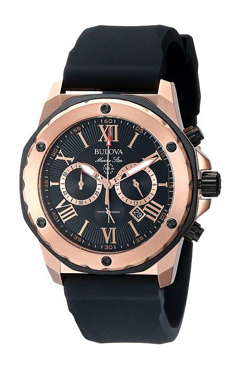 17 best ideas about affordable mens watches timex bulova mens marine star 98b104 black band black face dress watches bulova