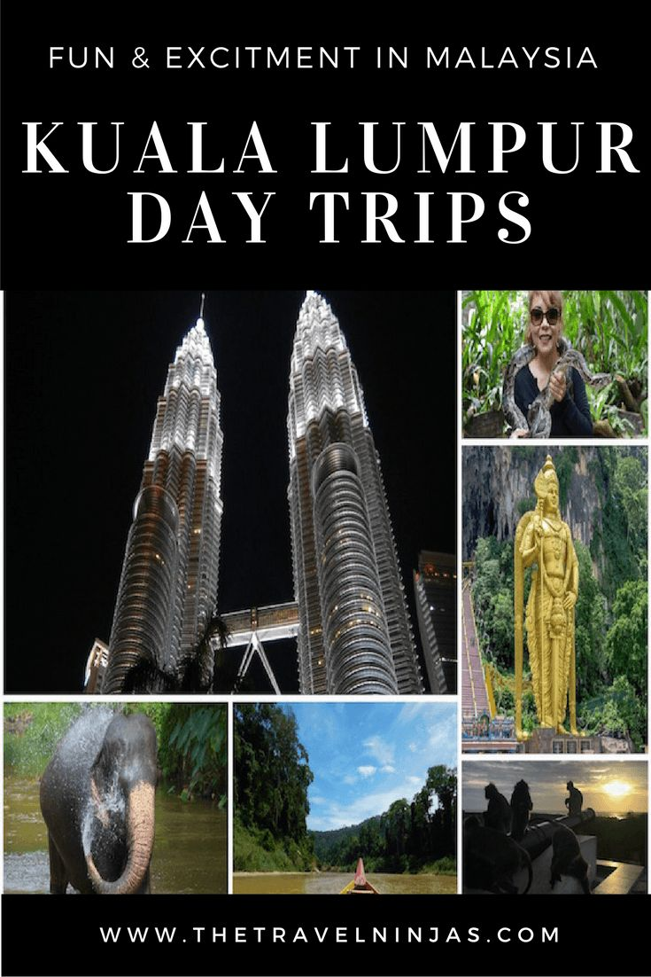 9 awesome day trips around Kuala Lumpur that deliver Natural Beauty, Adventure, Romance, and Fun. These fun adventures take a day or less. via @thetravelninjas