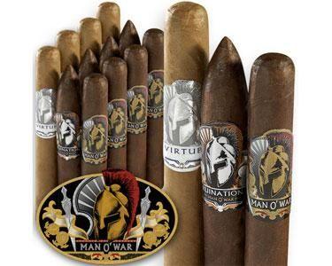 Man O' War Dirty Dozen Cigar Sampler - Box of 12