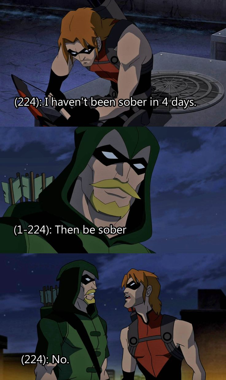 Texts from Young Justice - does that really seem like an option? I mean really?