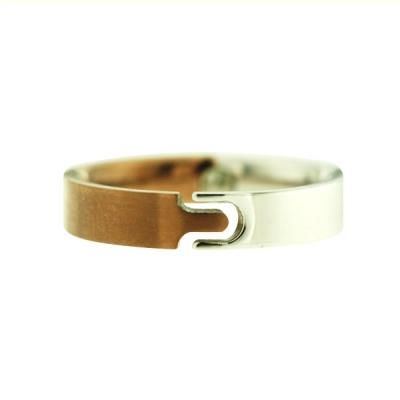 Titanium ring with germanium Activate titanium goods are lightweight yet strong and ideal for people on the go. Hypoallergenic and rust-proof, it suits anyone and any lifestyle.  #silverworks #titanium #germanium #ring #jewelry #accessories