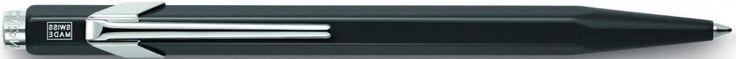 Шариковая ручка автоматическая Caran D'Ache Office Poplin синий M 849.509