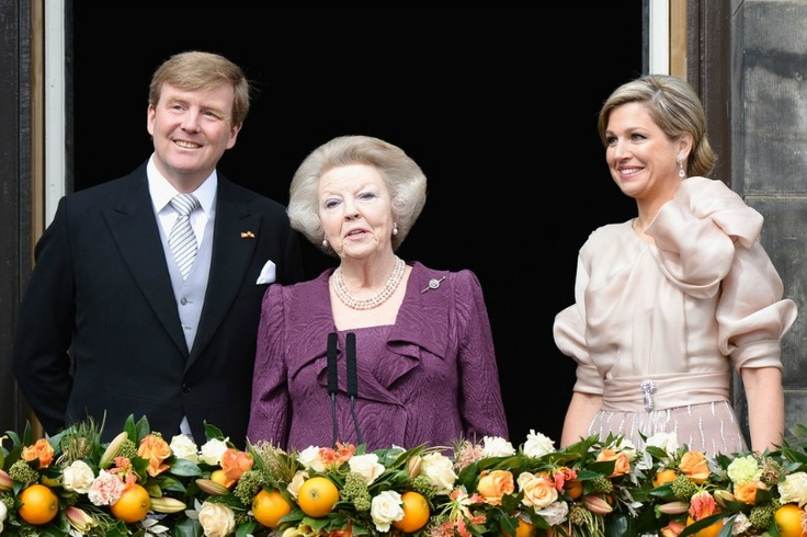 New King and Queen of Netherlands
