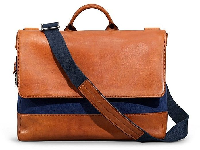 Shinola Messenger Bag