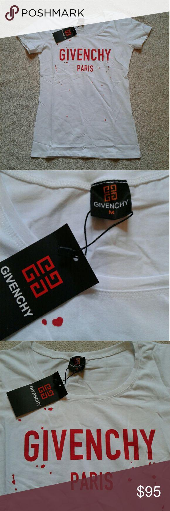 2- Givenchy Paris Shirt New w Tags  2- Givenchy shirt women's  SHIPS SAME DAY BEFORE 4PM OR NEXT DAY Givenchy Tops Tees - Short Sleeve