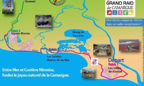 Le Grand Raid - Laufevent in der Camargue  (rf) Zwischen dem Languedoc und der Provence beherbergt das Rhônedelta zwischen seinen beiden Hauptarmen und dem Meer eine großflächige Sumpflandschaft, die Camargue, in der noch viele Wildpferde ...  Mehr dazu: http://www.reisefernsehen.com/reise-news/reise-news-aktivurlaub/le-grand-raid-laufevent-in-der-camargue.php