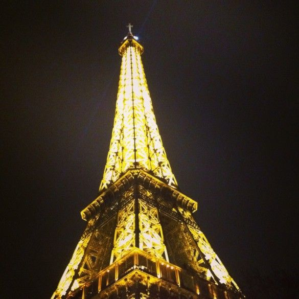 Eiffel Tour at Night...still breathtaking after all these years.
