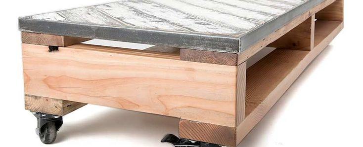 Znalezione obrazy dla zapytania łóżko z palet