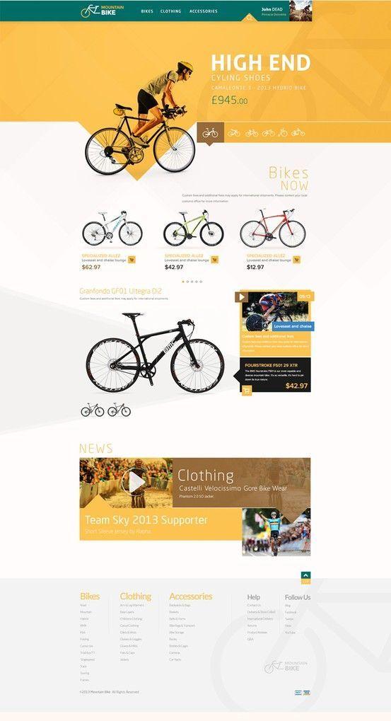 Website design layout. Inspirational UX/UI design sample. Visit us at: www.sodapopmedia.com #WebDesign #UX #UI #WebPageLayout #DigitalDesign #Web #Website #Design #Layout: