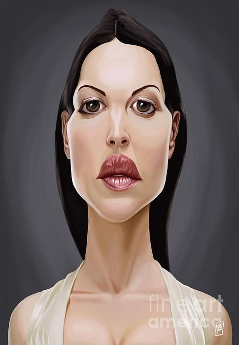 Monica Bellucci art | decor | wall art | inspiration | caricature | home decor | idea | humor | gifts