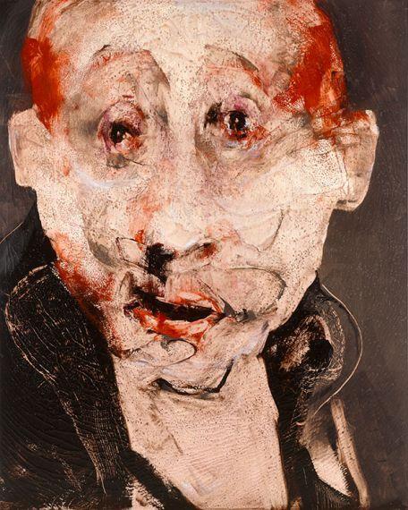 Lita Cabellut, OWEN 200 x 160 cm, mixed media, 2009