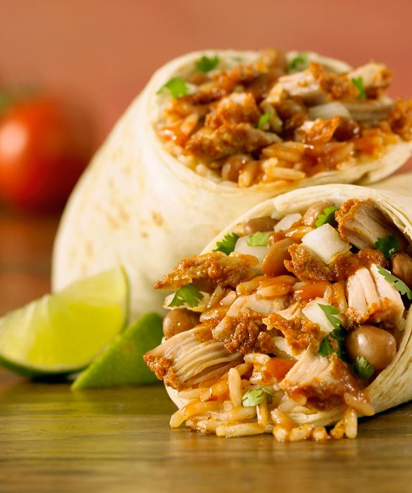 Healthy Burritos - How could anybody possible avoid? #yummy #food #healthyeating