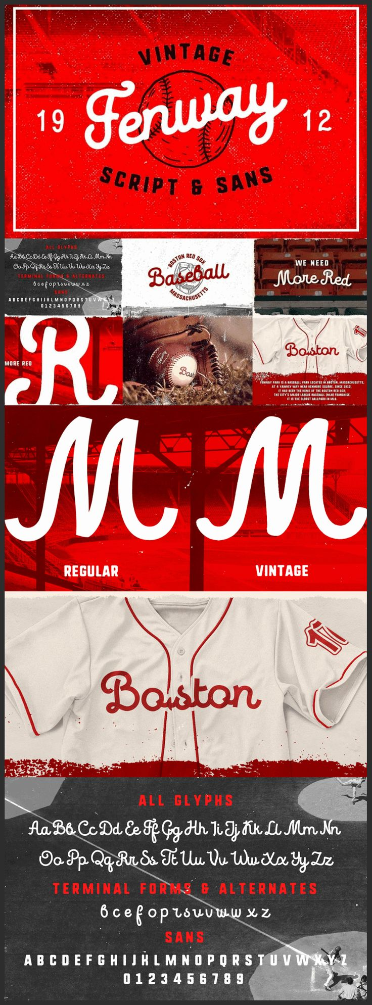 Vintage Sports Script Typeface - ByPeople